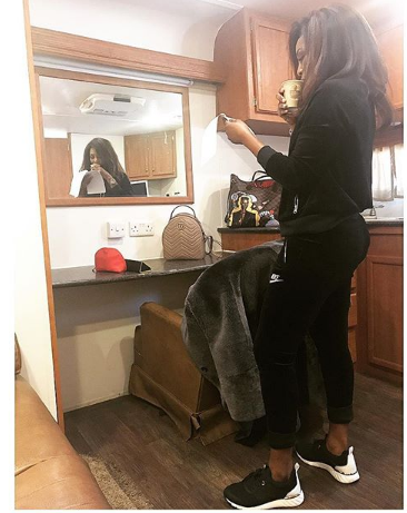 Genevieve Nnaji shows off, wants you to see this