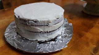 EASTER DRIP CAKE.  Montaje