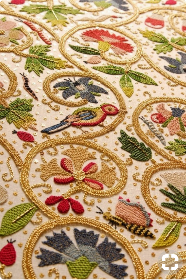 Royces Hub 17th Century Embroidery Stitches