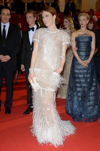 Chanel gown Cannes