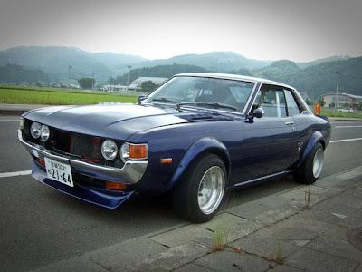Colección de autos fantásticos.