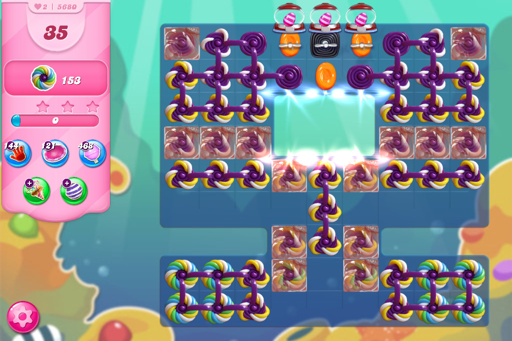 Candy Crush Saga level 5680
