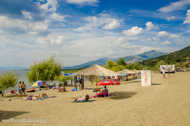 Dolno Dupeni Beach on Prespa Lake - Macedonia