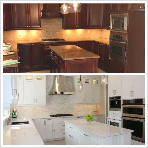 Toronto Custom Concepts Blog: Oakville Kitchens Before & After