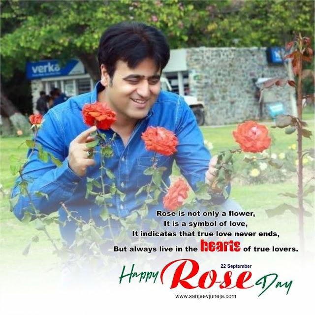 Happy Rose Day - Sanjeev Juneja