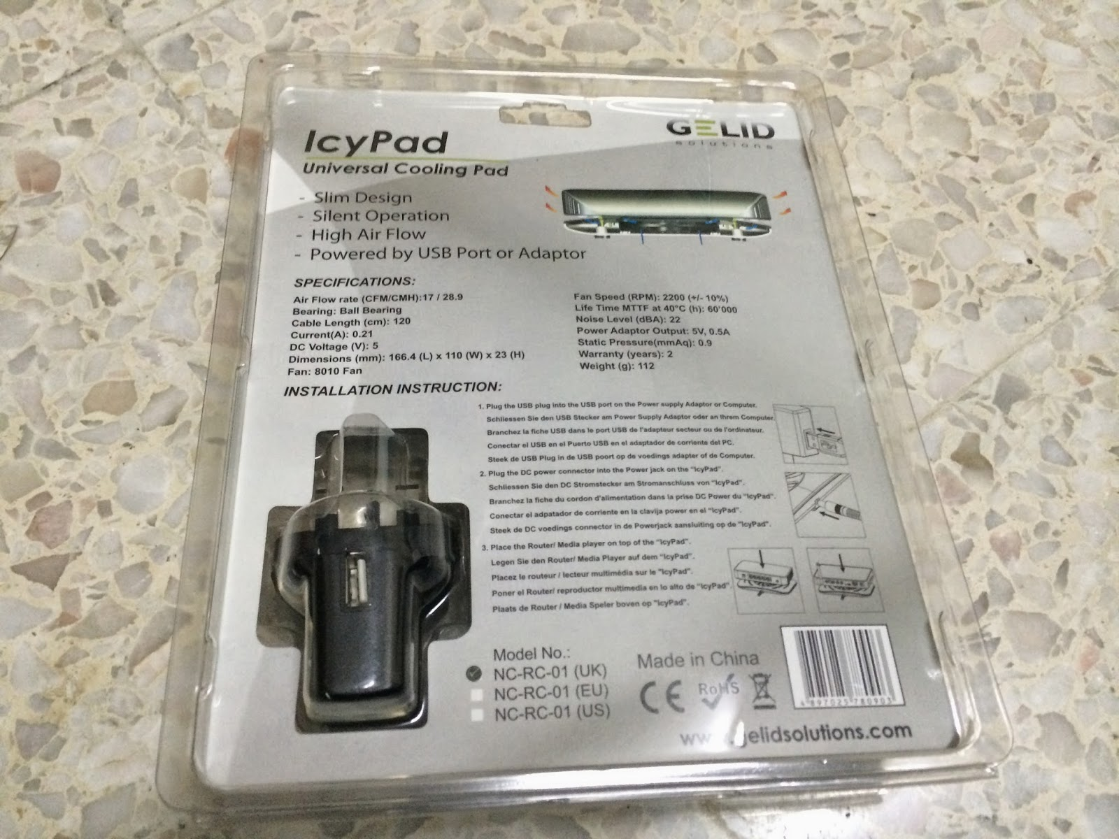 Unboxing & Review: GELID Solutions IcyPad 25