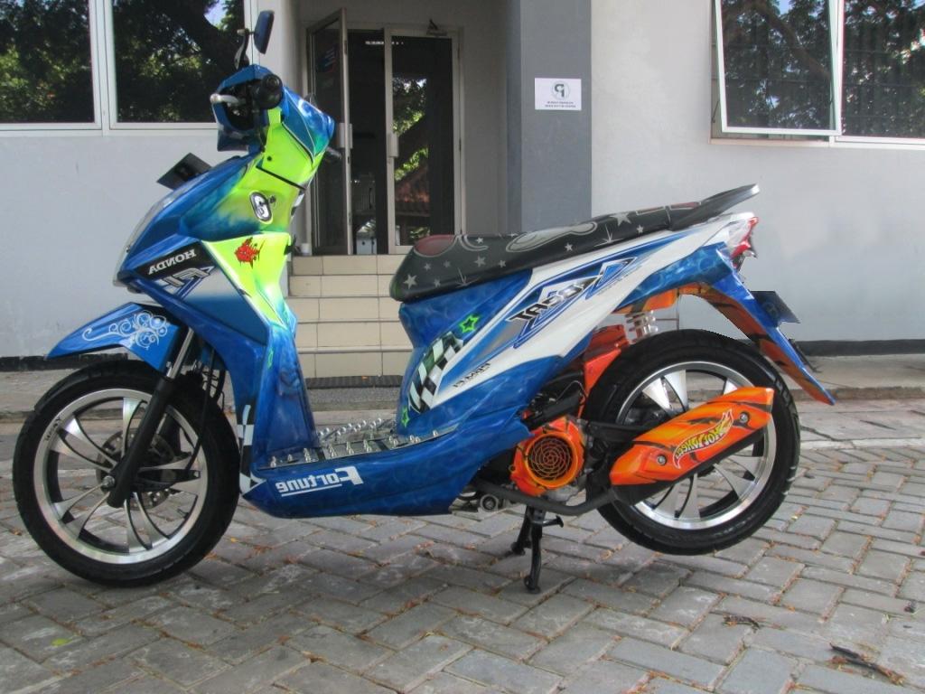 100 Modif Harian Honda Beat Fi Modifikasi Motor Beat Terbaru
