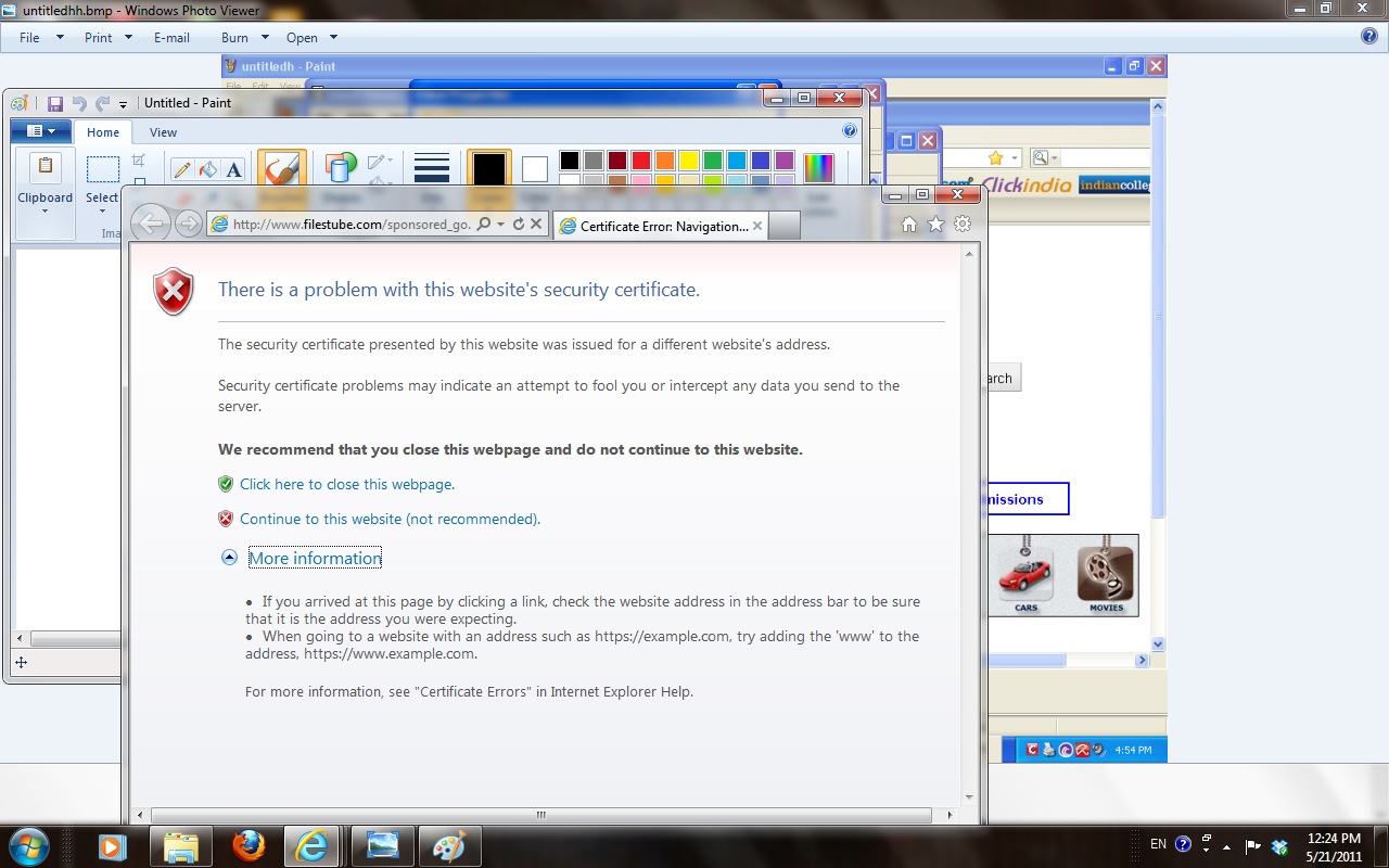 Troubleshooting Windows Errors And Solutions: Certificate