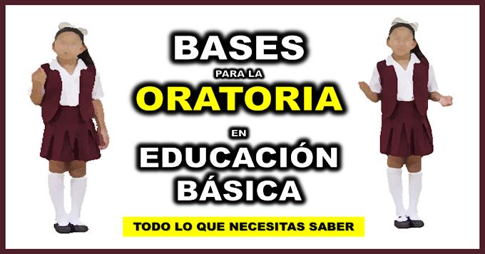 Bases para la oratoria en Educación Básica