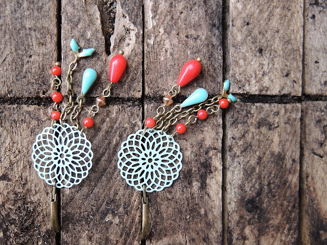 diy free tutorial earrings