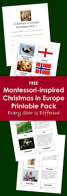 FREE Christmas in Europe Printable Pack for Kids