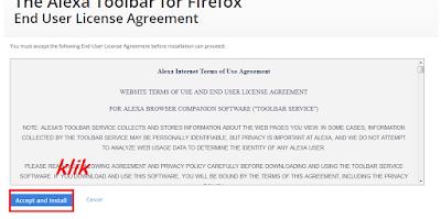 Cara Pasang Alexa Toolbar di Mozilla Firefox Terbaru