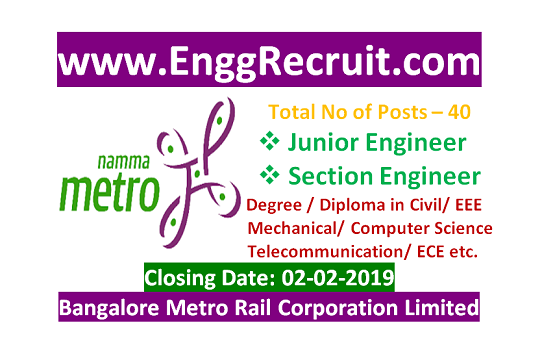 BMRCL Recruitment