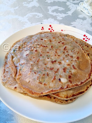 A Stack of Parathas