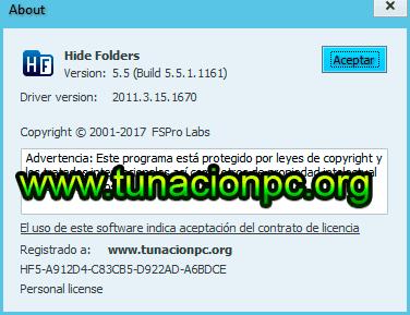 Hide Folders Imagen