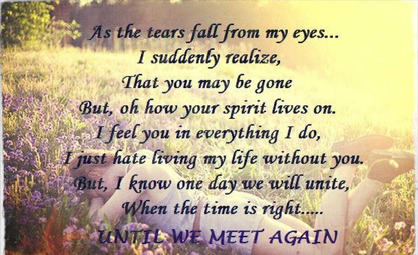 define until we meet again poem