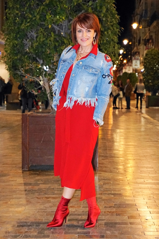 Almamodaaldia - Look Total Red