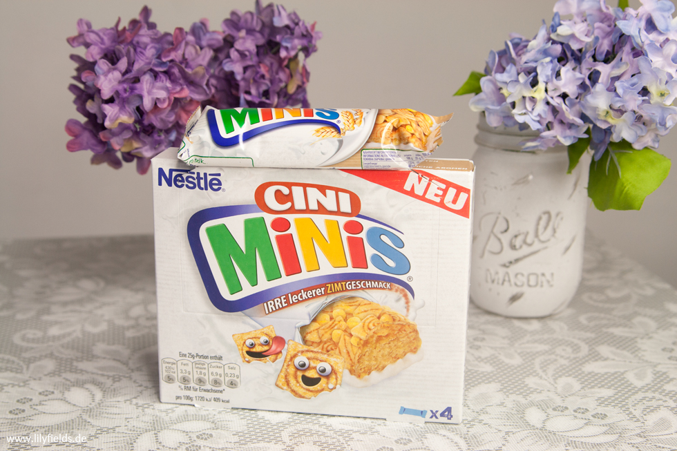 Nestle - Cini Minis - Cerealien-Riegel