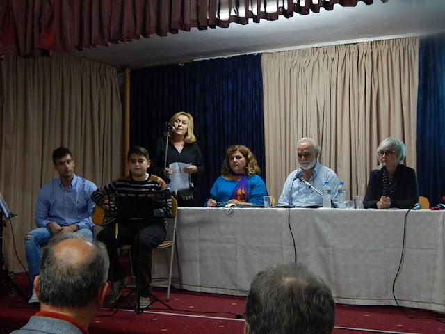 Εκδήλωση για τον Γιάννη Ρίτσο στην Κοιλάδα Αργολίδας