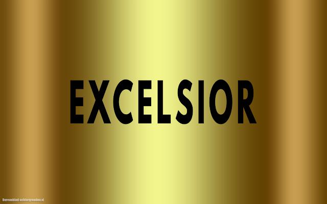 Gouden Excelsior wallpaper
