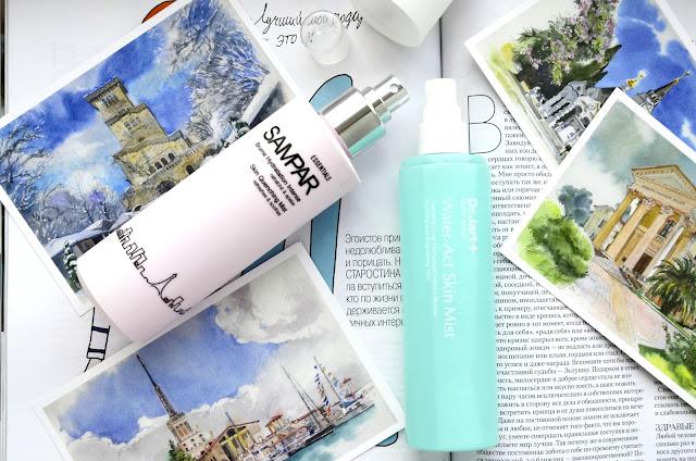 E_katerina: Увлажняющие тоники для лица Dr.Jart+ Most Moist Water Act Skin Mist и Sampar Skin Quenching Mist