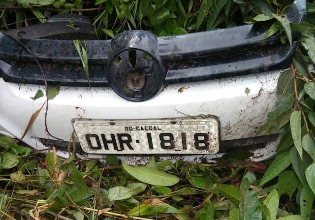 Acidente na BR 364 deixou duas mulheres inconscientes na estrada