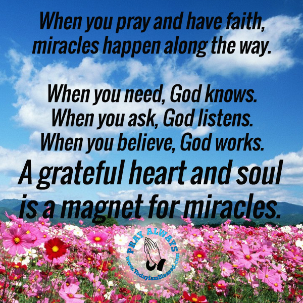 Motivational Words of Wisdom: When a prayer becomes your