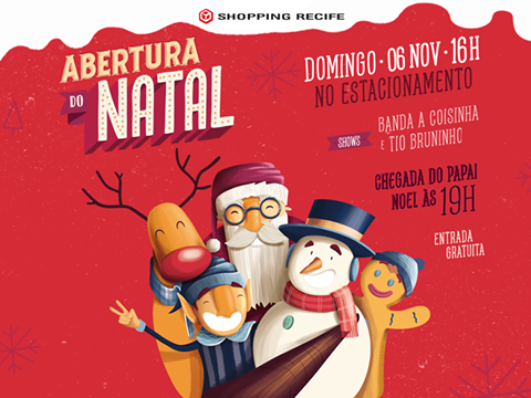 Papai noel no shopping recife