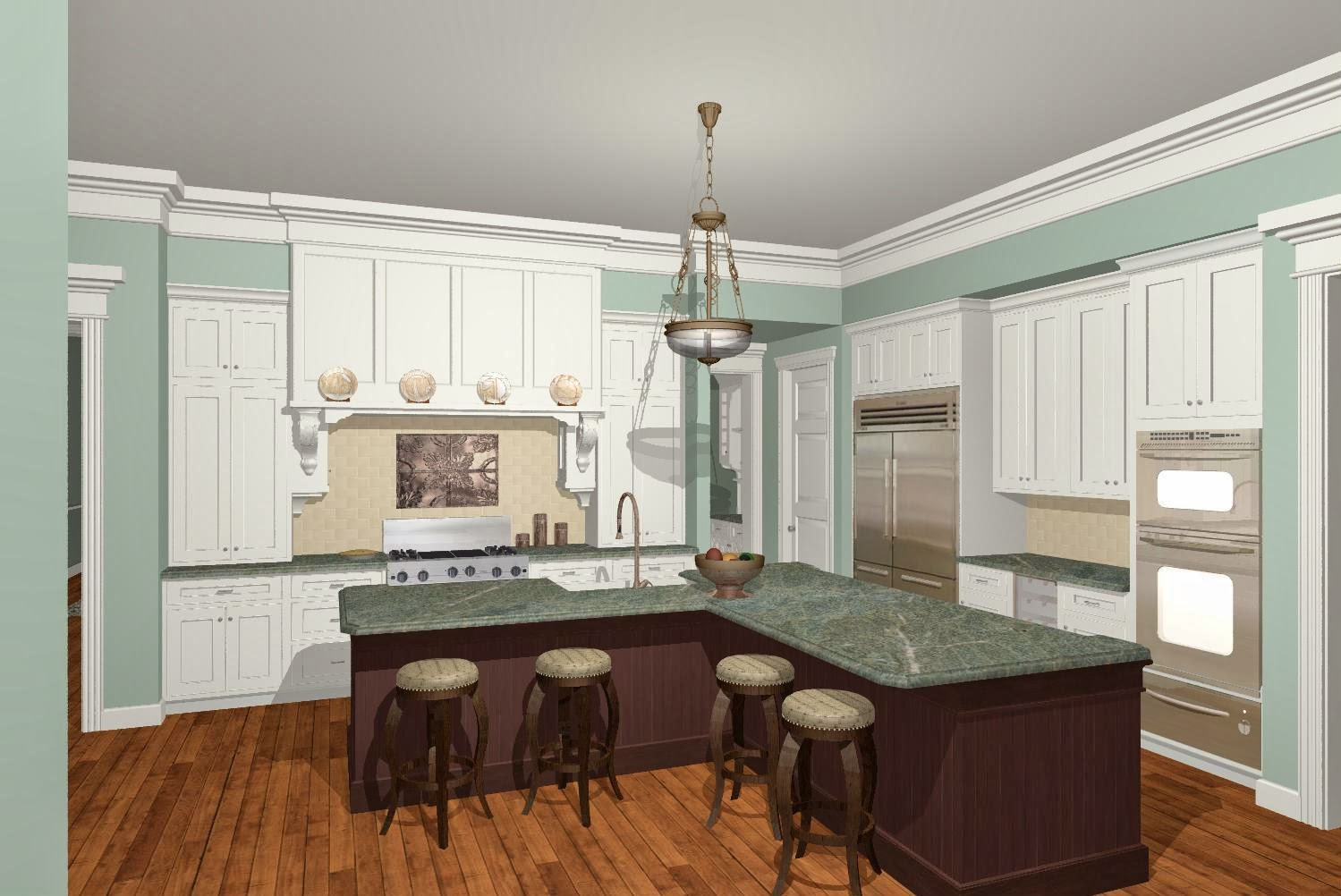 L Shaped Island Design A Kitchen Island: L Shaped Kitchen With Island Ideas