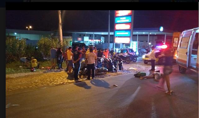 Homem morre em acidente de trânsito na cidade de Pau dos Ferros