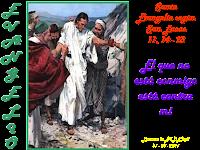 Resultado de imagen para En aquel tiempo, estaba Jesús echando un demonio que era mudo.