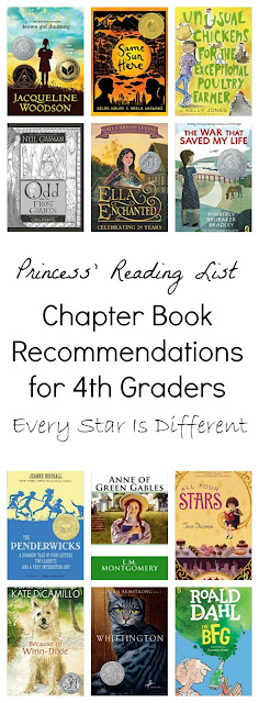 Chapter Book Recommendations for 4th Graders