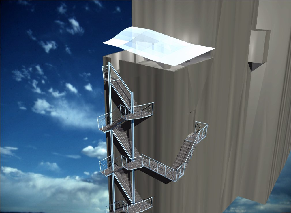 Tht Arquitectura Diseño Integral Arquitectonico Escalera De