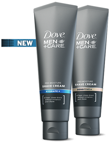 http://www.mademan.com/DoveMenShaveCream/