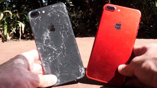 iPhone 8 plus sau khi thay vỏ mới