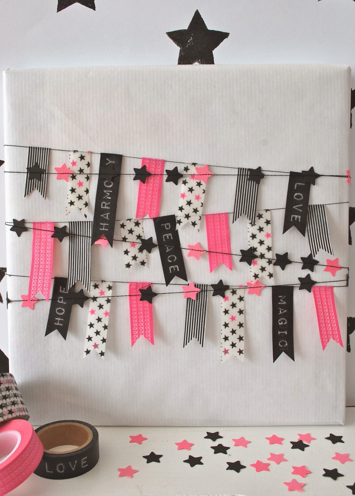 Ideas Para Decorar Con Washi Tape Decorar Regalos Con Washi Tape Artcreatiu
