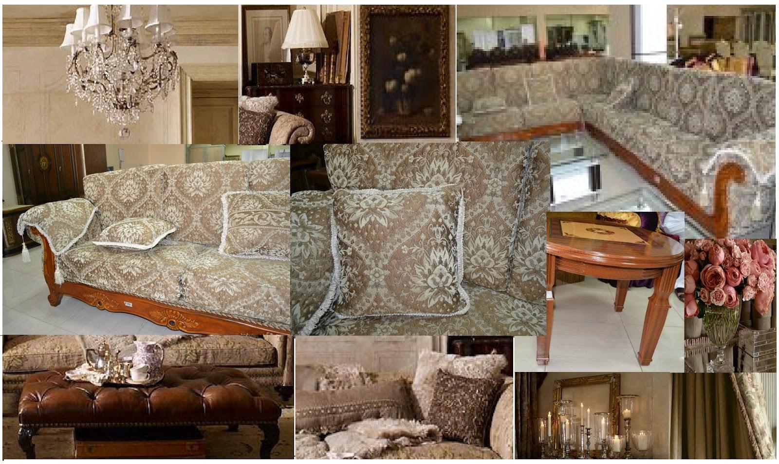 Brand New Arabic European Inspired Furniture Majlis Bedroom And