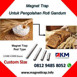 magnet trap type rod