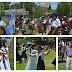 Los festejos por el Día de la Tradición incluyeron procesión, danzas folclóricas y música