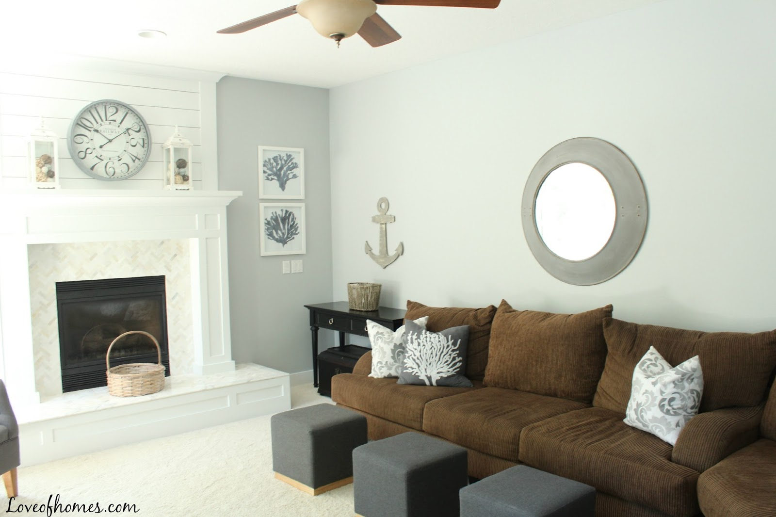Love Of Homes Beach Themed Great Room