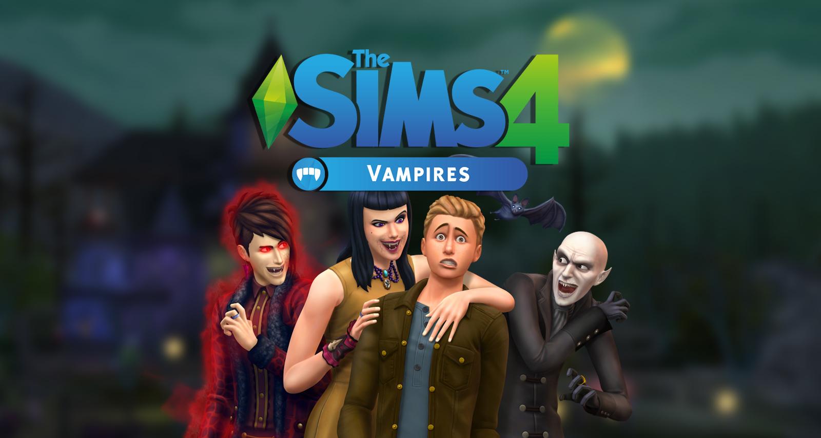 THE SIMS 4 VAMPIROS+INFANTES EDITION PC FULL ESPAÑOL 2017