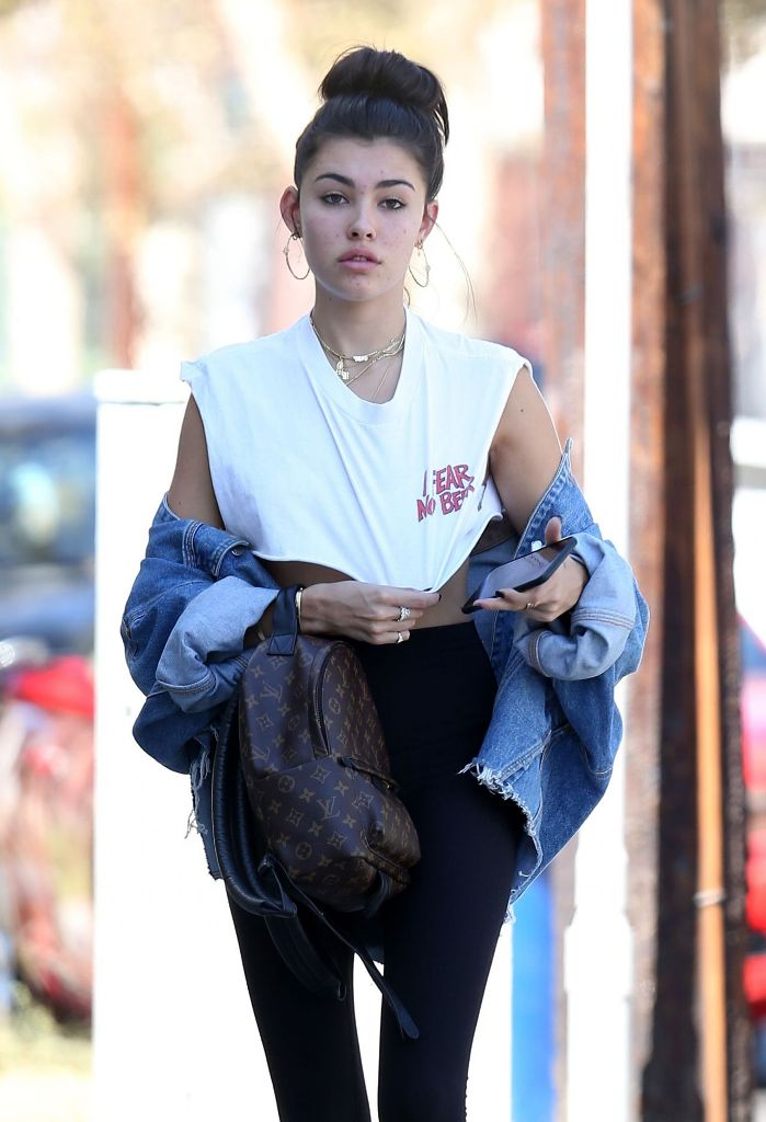 Madison Beer Street Style Out in West Hollywood