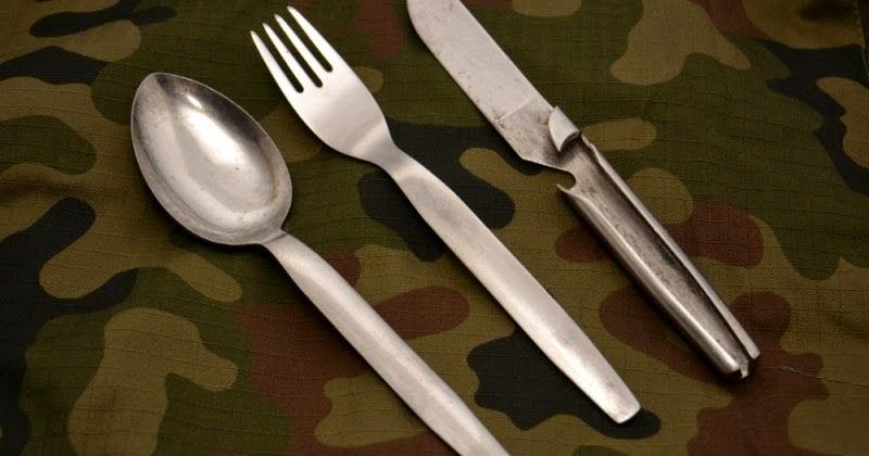 Webbingbabel Polish Army Eating Utensils 1970s 1990s