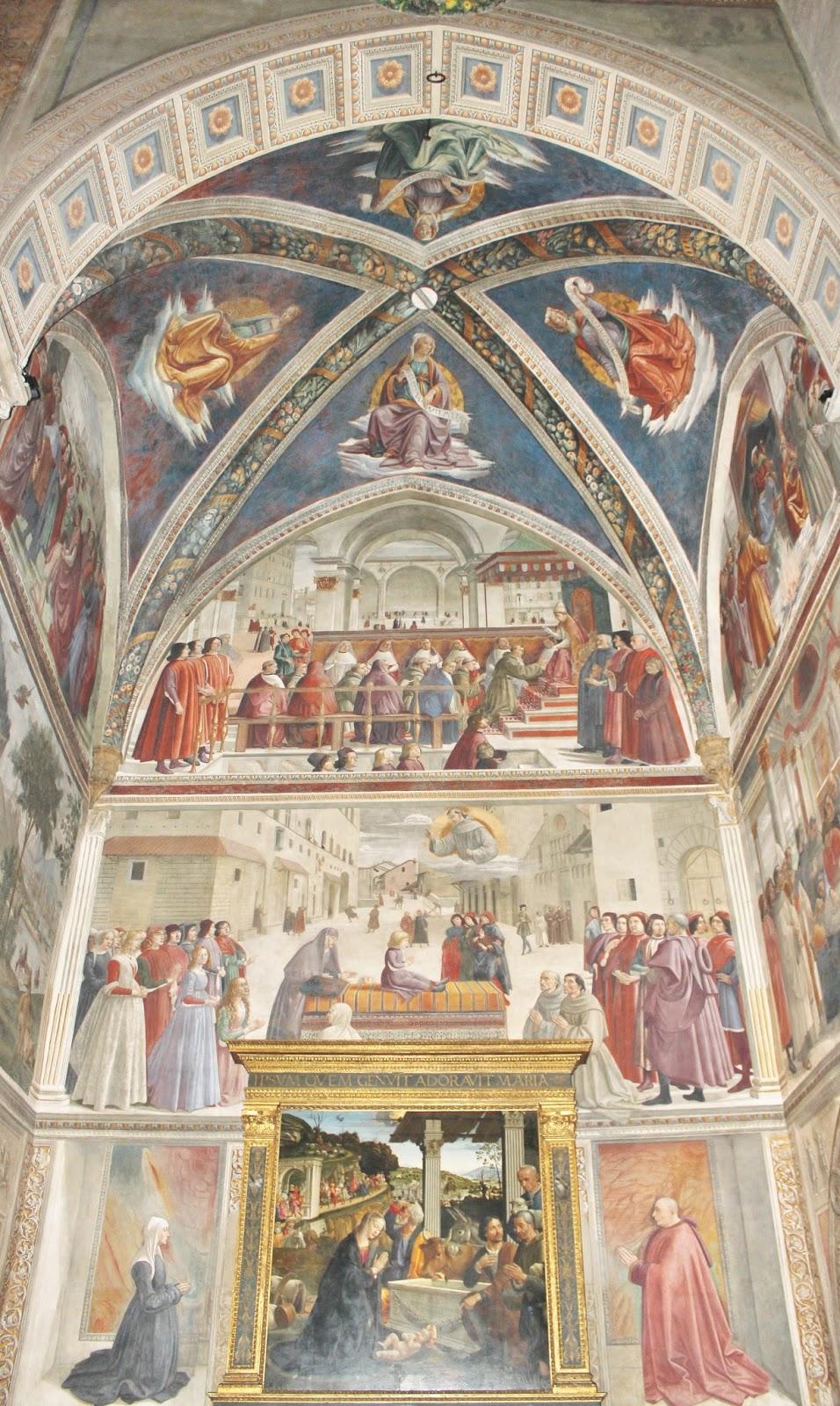 Ghirlandaio Shepherds 1485 Adoration
