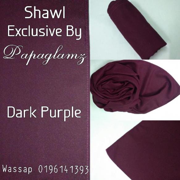shawl murah, Segmen Miliki Shawl Exclusive By Papaglamz Secara PERCUMA