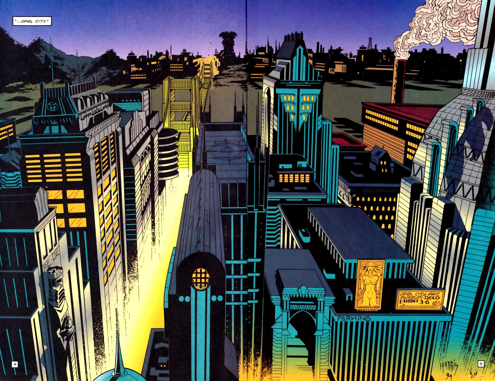 Starman Retrospective, Day 3: Opal City