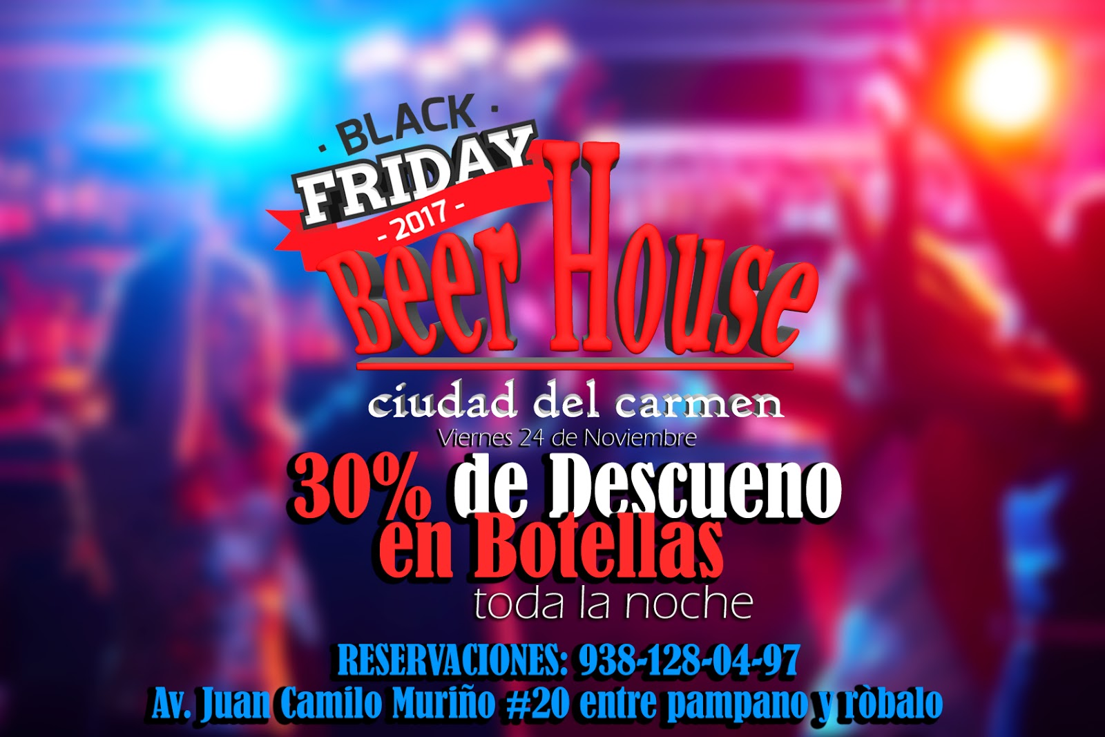 Diseño Publicitario flyers + video + Rediseño de logotipo [Beer House]