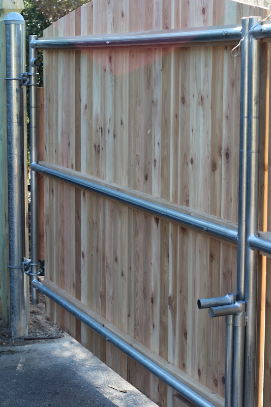 Woodwork How To Build A 10 Ft Wood Gate Pdf Plans
