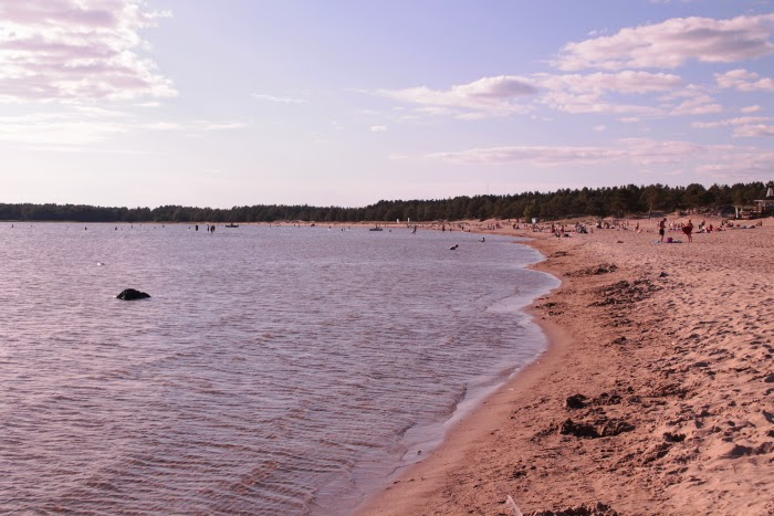 yyteri - ranta - beautiful beach in finland