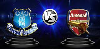 Arsenal starting lineup vs everton